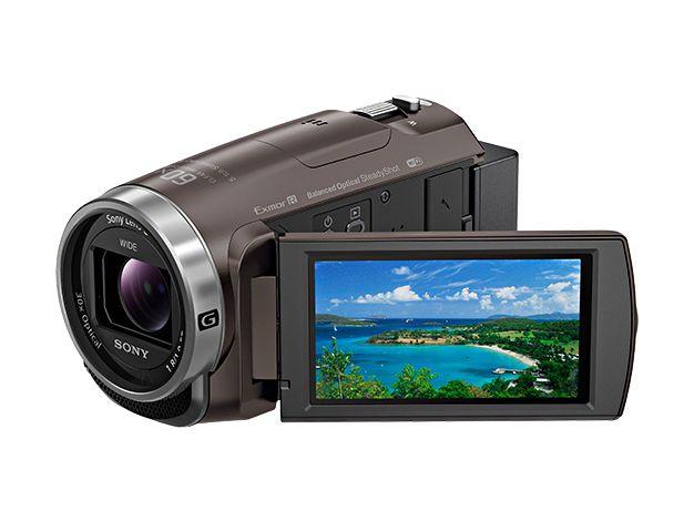 【新品/取寄品/代引不可】デジタルHDビデオカメラレコーダー Handycam HDR-CX680-TI ブロンズブラウン