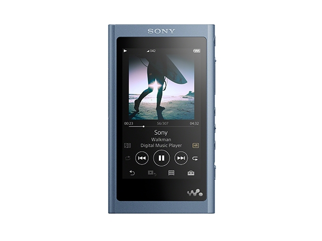 【新品/取寄品】ウォークマン Aシリーズ 16GB ムーンリットブルー(ヘッドホン付属なし) NW-A55/L