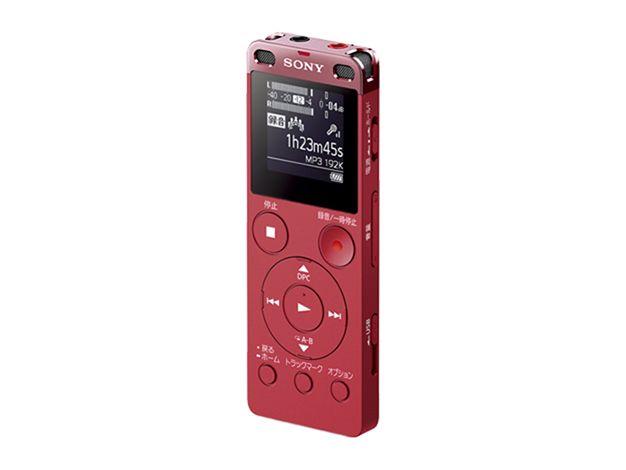 【新品/取寄品】ステレオICレコーダー FMチューナー付 4GB ピンク ICD-UX560F/P