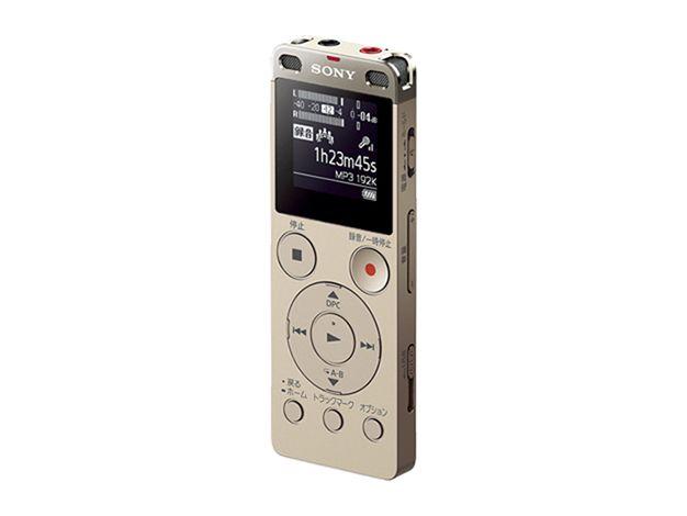 【新品/取寄品/代引不可】ステレオICレコーダー ICD-UX560F-N ゴールド