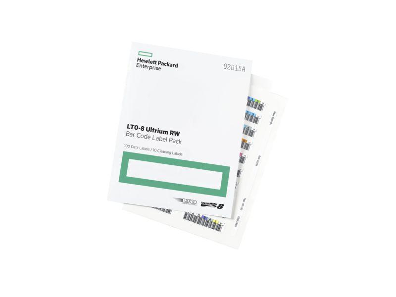 【新品/取寄品/代引不可】LTO8 Ultrium RW バーコードラベルパック Q2015A
