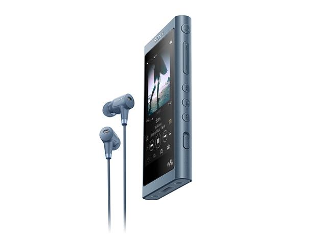 【新品/取寄品】ウォークマン Aシリーズ 16GB ムーンリットブルー(ヘッドホン同梱) NW-A55HN/L