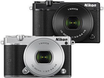 【新品/在庫あり】Nikon 1 J5 標準パワーズームレンズキット シルバー