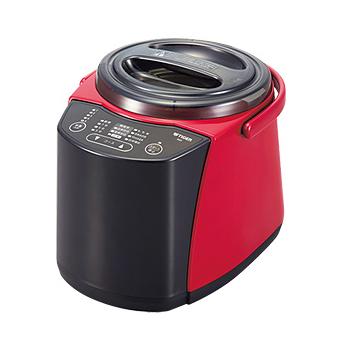 【新品/取寄品】タイガー 精米器(無洗米機能付) RSF-A100-R レッド