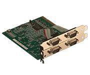 【新品/取寄品/代引不可】1024バイトFIFO搭載 調歩同期RS232C 4CH PCI-466140