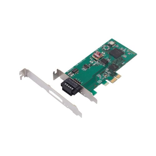【新品/取寄品/代引不可】PCIe-LP RS-422A/485 1ch シリアル通信ボード COM-1PDH-LPE