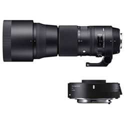 【新品/在庫あり】SIGMA 150-600mm F5-6.3 DG OS HSM Contemporary テレコンバーターキット [キヤノン用]