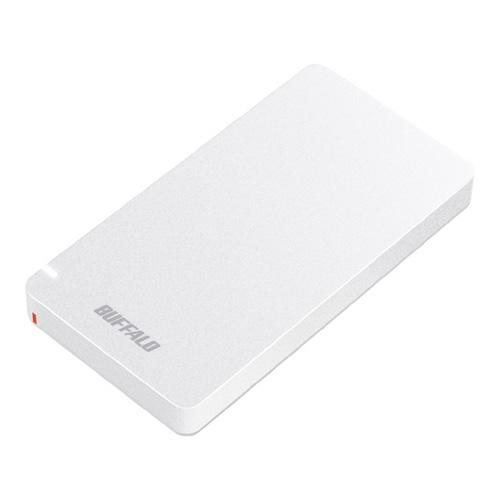 【新品/取寄品/代引不可】USB3.1(Gen2)ポータブルSSD 240GB ホワイト SSD-PGM240U3-W