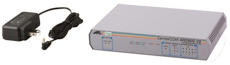 【新品/取寄品/代引不可】CentreCOM AR260S V2-Z5 [WAN:10/100BASE-TXx1、LAN:10/100BASE-TXx4(デリバリースタンダード保守5年付)] 0059RZ5