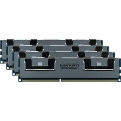 【新品/取寄品/代引不可】デスクトップ用 PC3-12800/DDR3-1600 16GBキット[4枚組] 240pin DIMM H/S付 CAK4GX4-D3U1600
