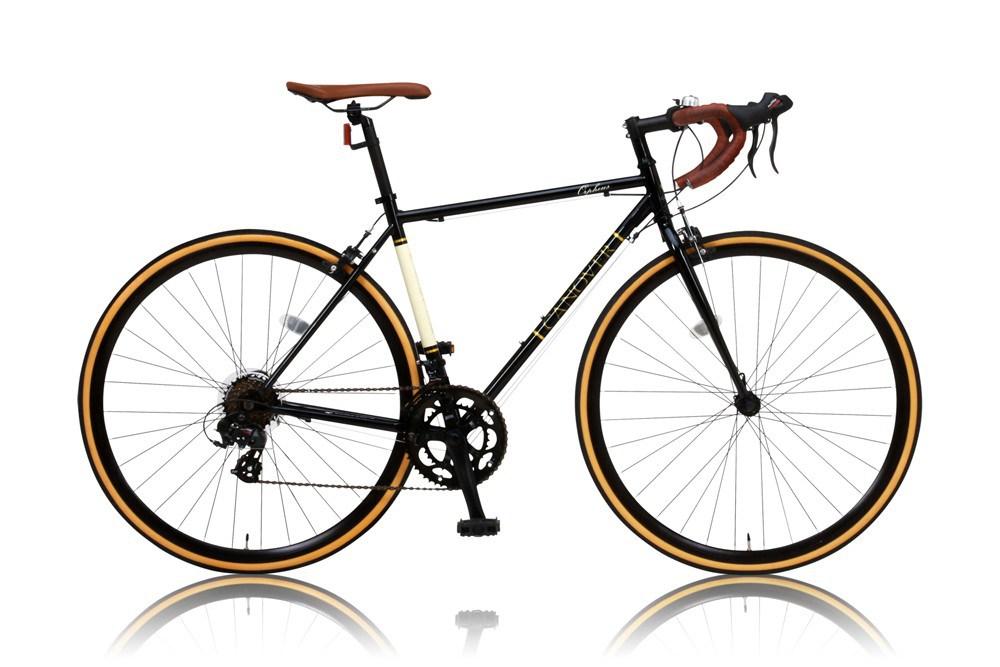 【新品/取寄品/代引不可】CANOVER CAR-013 ORPHEUS ブラック (25578) ロードバイク 700c シマノ14段変速 【北海道・沖縄・離島配送不可】