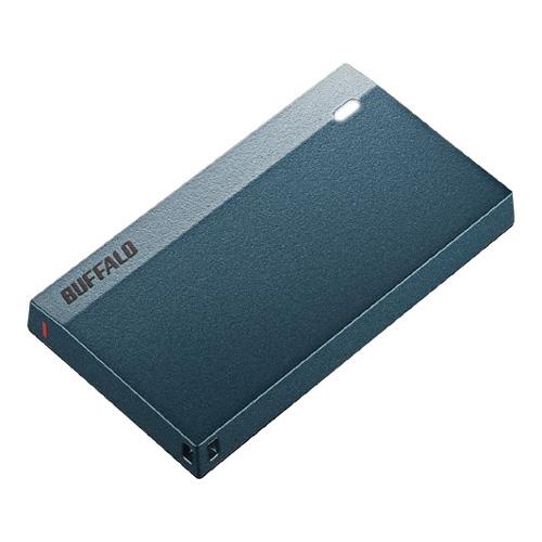 【新品/取寄品/代引不可】USB3.2(Gen1)超小型ポータブルSSD 960GB モスブルー SSD-PSM960U3-MB