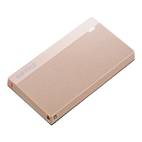 【新品/取寄品/代引不可】USB3.2(Gen1)超小型ポータブルSSD 960GB スモーキーピンク SSD-PSM960U3-SP