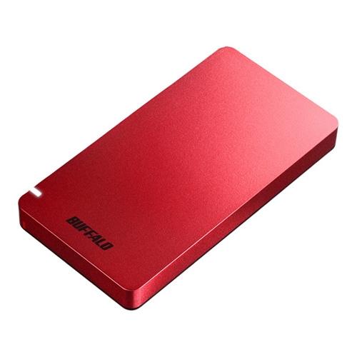 【新品/取寄品/代引不可】USB3.1(Gen2)ポータブルSSD 960GB レッド SSD-PGM960U3-R