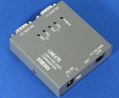 【新品/取寄品/代引不可】インターフェースコンバータ LANRS-232C x2ポート 本体単体 SI-60X-NS