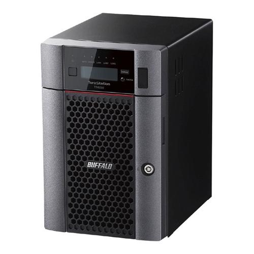 【新品/取寄品/代引不可】TeraStation TS6000シリーズ 6ベイ デスクトップ 18TB TS6600DN1806