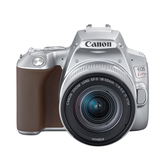 【新品/取寄品】デジタルカメラ EOS Kiss X10シルバー・EF-S18-55 IS STM レンズキット[3460C001] KISSX10SL-1855ISSTMLK