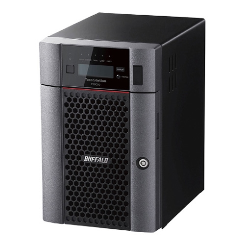 【新品/取寄品/代引不可】TeraStation TS6000シリーズ 6ベイ デスクトップ 60TB TS6600DN6006