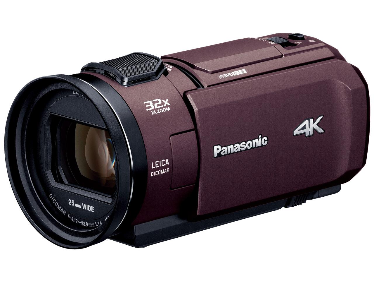 【新品/在庫あり】デジタル4Kビデオカメラ HC-VX1M-T ブラウン