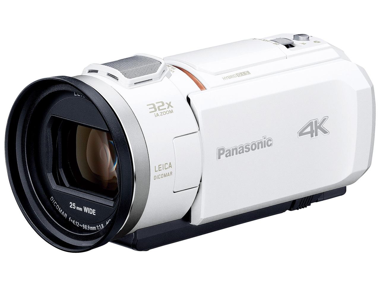 【新品/在庫あり】デジタル4Kビデオカメラ HC-VX1M-W ホワイト