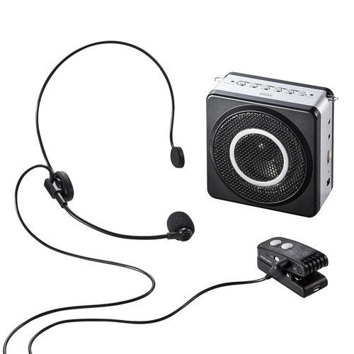 【新品/取寄品/代引不可】ワイヤレスポータブル拡声器 MM-SPAMP5