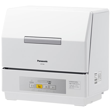 【新品/在庫あり】パナソニック 食器洗い乾燥機 プチ食洗 NP-TCR4-W ホワイト