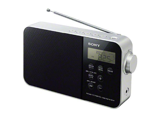 【新品/取寄品】FM/AM/ラジオNIKKEI PLLシンセサイザーポータブルラジオ ICF-M780N