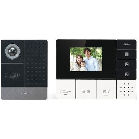 【新品/取寄品】エルパ DECT方式ワイヤレステレビドアホン [モニターセット] DHS-SM2030