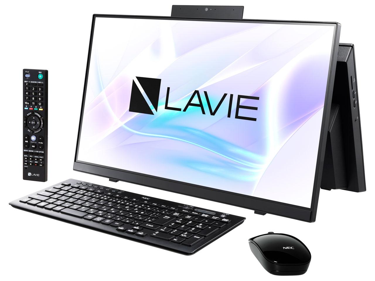 新品 セール特価 在庫あり LAVIE Home All-in-one HA770 PC-HA770RAB ファインブラック RAB 希少