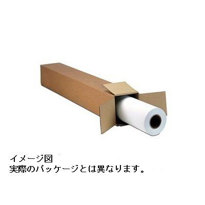 【新品/取寄品/代引不可】マット白厚手ユポ 42インチx30m/1本 LF5-YPF42CX