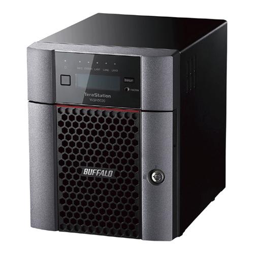 【新品/取寄品/代引不可】ハードウェアRAID TeraStation WSH5420N9シリーズ 4ベイデスクトップ 24TB Workgroup WSH5420DN24W9