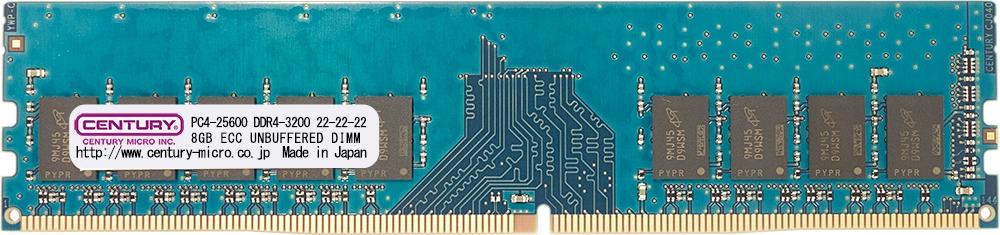 【新品/取寄品/代引不可】SV/WS用 PC4-25600 DDR4-3200 288pin EDIMM 1RK 1.2v 16GB CK8GX2-D4UE3200H