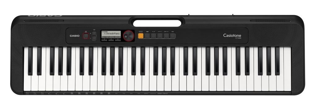 【新品/取寄品/代引不可】カシオ カシオトーン ベーシックキーボード CT-S200BK CT-S200BK