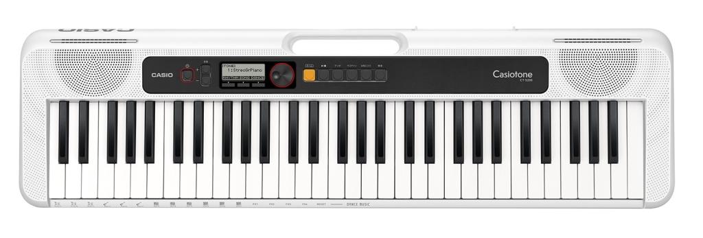 【新品/取寄品/代引不可】カシオ カシオトーン ベーシックキーボード CT-S200WE CT-S200WE