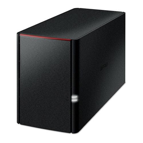 新品 取寄品 送料無料でお届けします 代引不可 LinkStation 受賞店 for 8TB LS220DN0802B SOHO 2ベイ ネットワークHDD