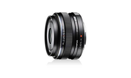 【新品/取寄品】ミラーレス一眼用交換レンズ 34mm相当(35mm判換算) M.ZUIKO DIGITAL 17mm F1.8 ブラック 17MM F1.8 BLK
