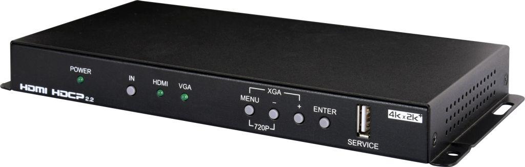 【新品/取寄品/代引不可】4K2K対応HDMI/VGAtoHDMIスケーラー CSC-V101P