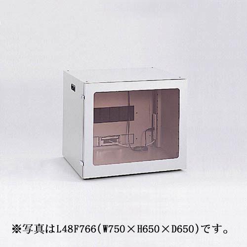 【新品/取寄品/代引不可】FA防塵パソコンロッカー 幅750mm L48F746