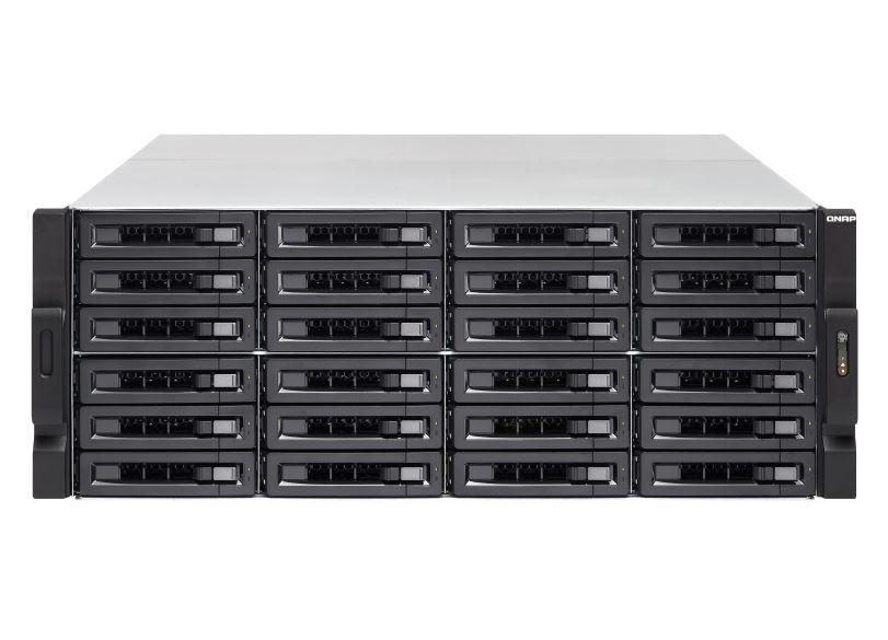 【新品/取寄品/代引不可】TVS-2472XU-RP-i5-8G 144TB搭載モデル 4Uラック型 NAS ニアラインHDD 6TBx24個 TVS-2472XU-RP/144TB