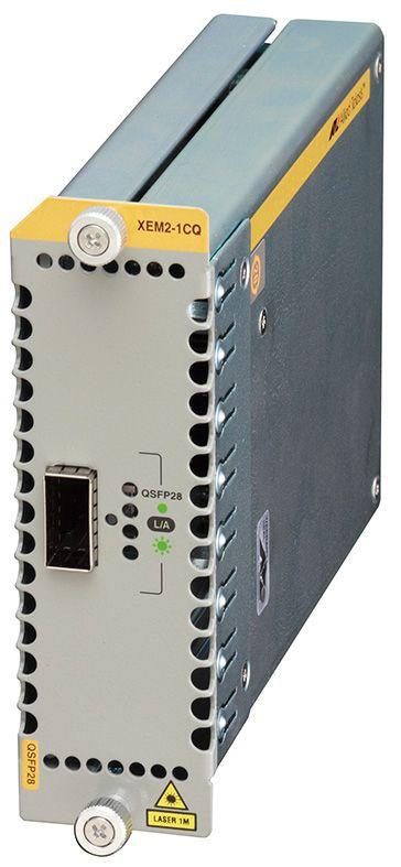 【新品/取寄品/代引不可】AT-XEM2-1CQ-T7アカデミック [QSFP28スロットx1 (デリバリースタンダード保守7年付)] 3619RT7