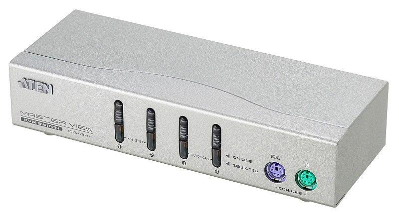 【新品/取寄品/代引不可】KVMスイッチ(4ポート/ケーブル付) CS-84A/ATEN