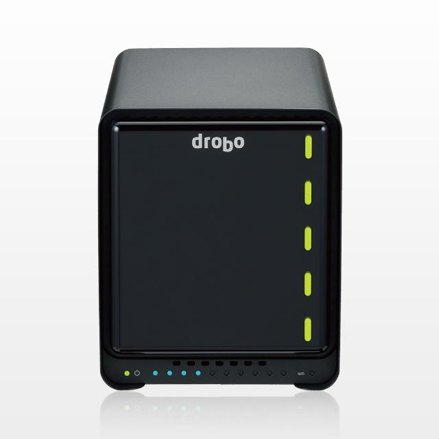 【新品/取寄品/代引不可】Drobo 5D3(Gold Edition)+40TB(8TBx5) PDR-5D3GLD40T/C