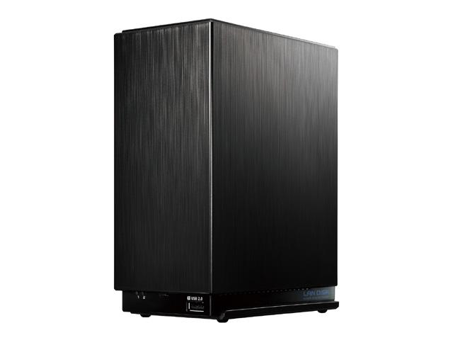 【新品/取寄品/代引不可】デュアルコアCPU搭載 2ドライブ高速ビジネスNAS 2TB HDL2-AA2W
