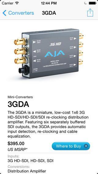 【新品/取寄品/代引不可】スタンドアロン型コンバーター3GDA 3GDA