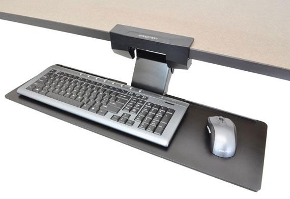 【新品/取寄品/代引不可】Neo-Flex アンダーデスクキーボードアーム 97-582-009