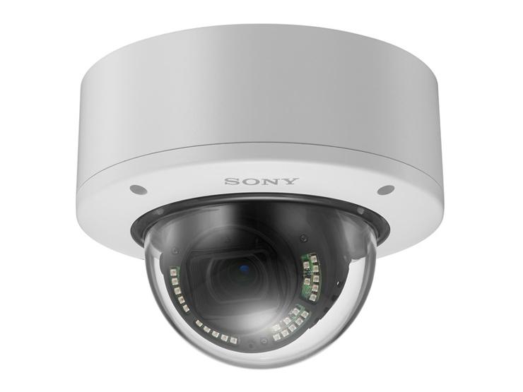 【新品/取寄品/代引不可】ネットワークカメラ ドーム型 4K出力 屋外型 赤外線照射機能搭載 IP66準拠 SNC-VM772R