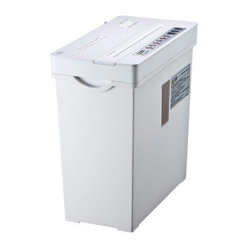 【新品/取寄品/代引不可】ペーパー&CDシュレッダー ホワイト PSD-AW5534W