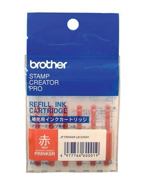 【新品/取寄品/代引不可】使いきりタイプ補充インク(レッド) PRINK6R