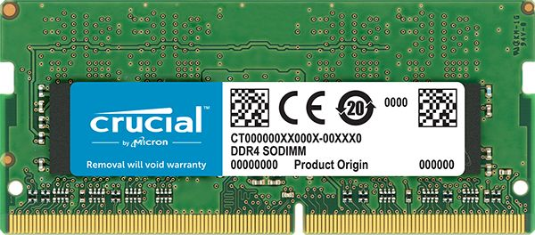 【新品/取寄品/代引不可】16GB DDR4 2666 MT/s (PC4-21300) CL19 DR x8 Unbuffered SODIMM 260pin CT16G4SFD8266