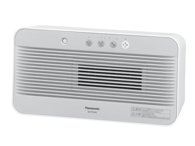 【新品/取寄品】セラミックファンヒーター DS-FTS1201-W ホワイト